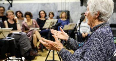 Intervista a Giovanna Marini, protagonista del documentario della Meditfilm prodotto dal basso che guarda alla musica dalla parola Sud