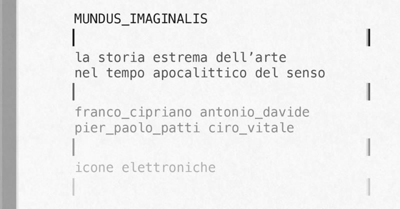 'Mundus imaginalis', la reazione alla quarantena di un collettivo di artisti